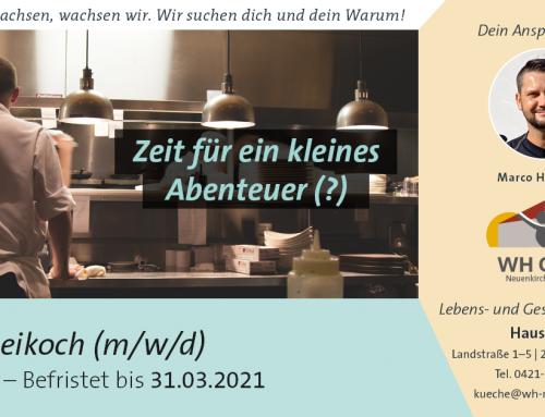 Koch/Beikoch (m/w/d) gesucht