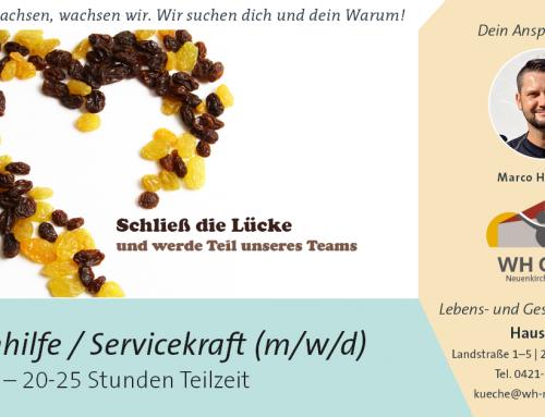 Küchenhilfe/ Servicekraft gesucht (m/w/d)
