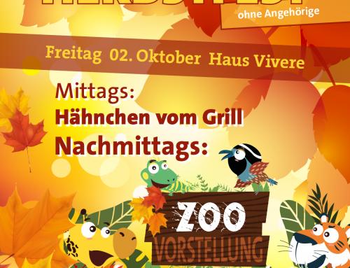 Herbstfest mit unseren Bewohnern